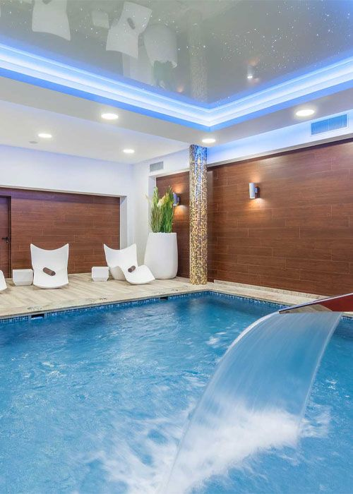 Pool & Spa for guests from outside - Hotel Beskid****