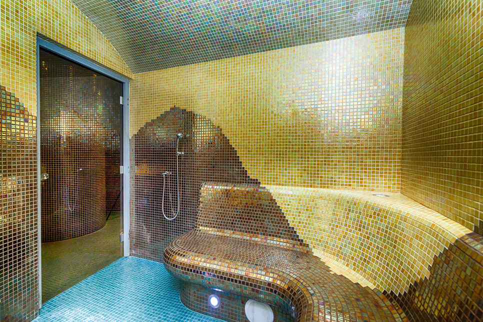 Steam bath - Hotel Beskid****
