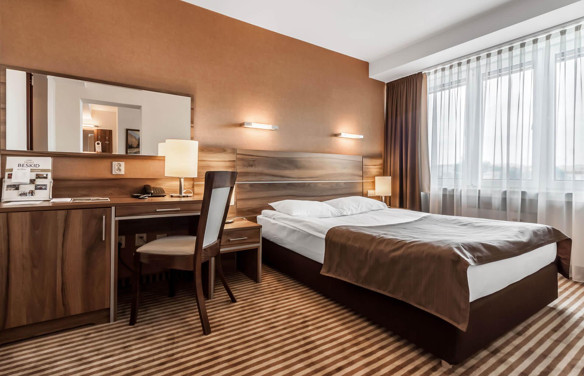 Zdjęcie - Pokój dwuosobowy - Hotel Beskid****